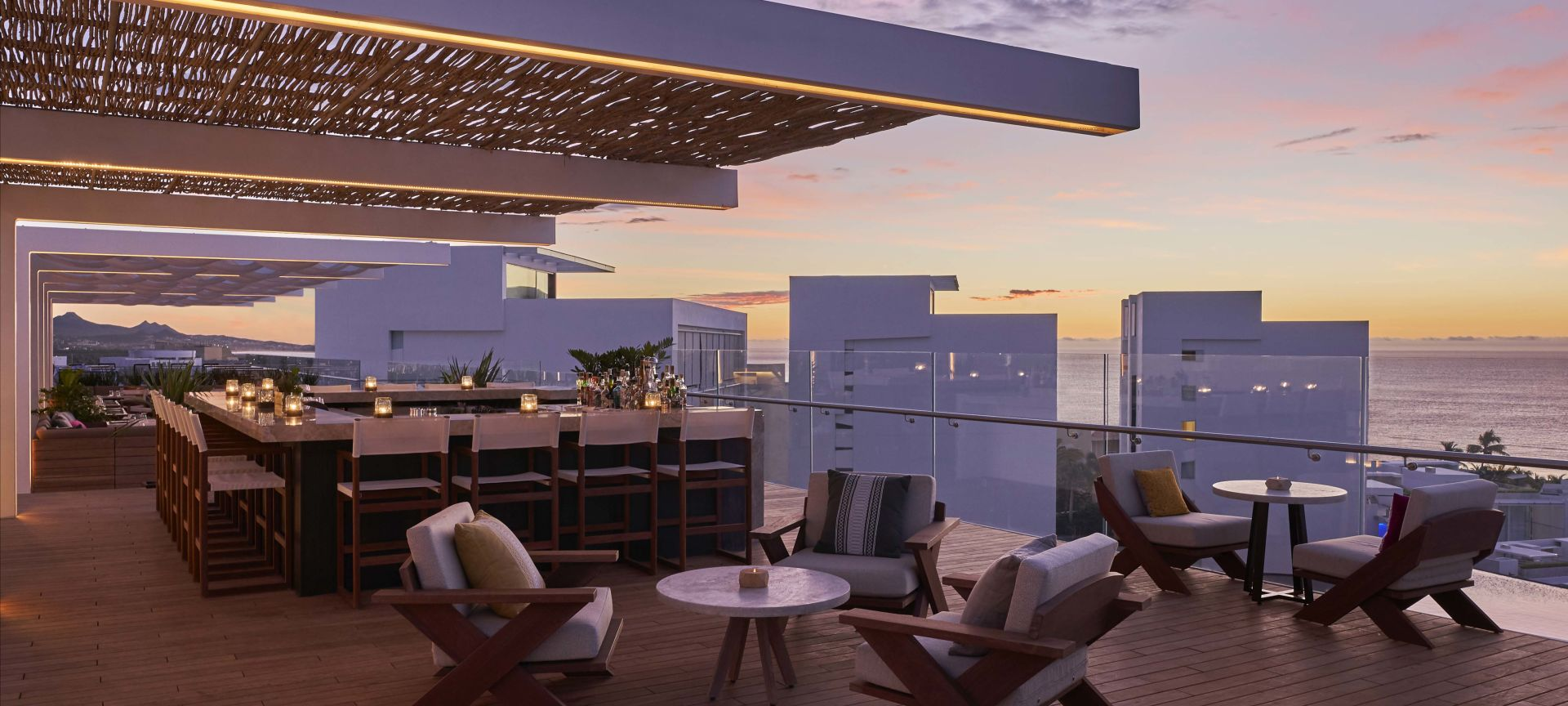 Cielomar Rooftop Bar at Viceroy Los Cabos