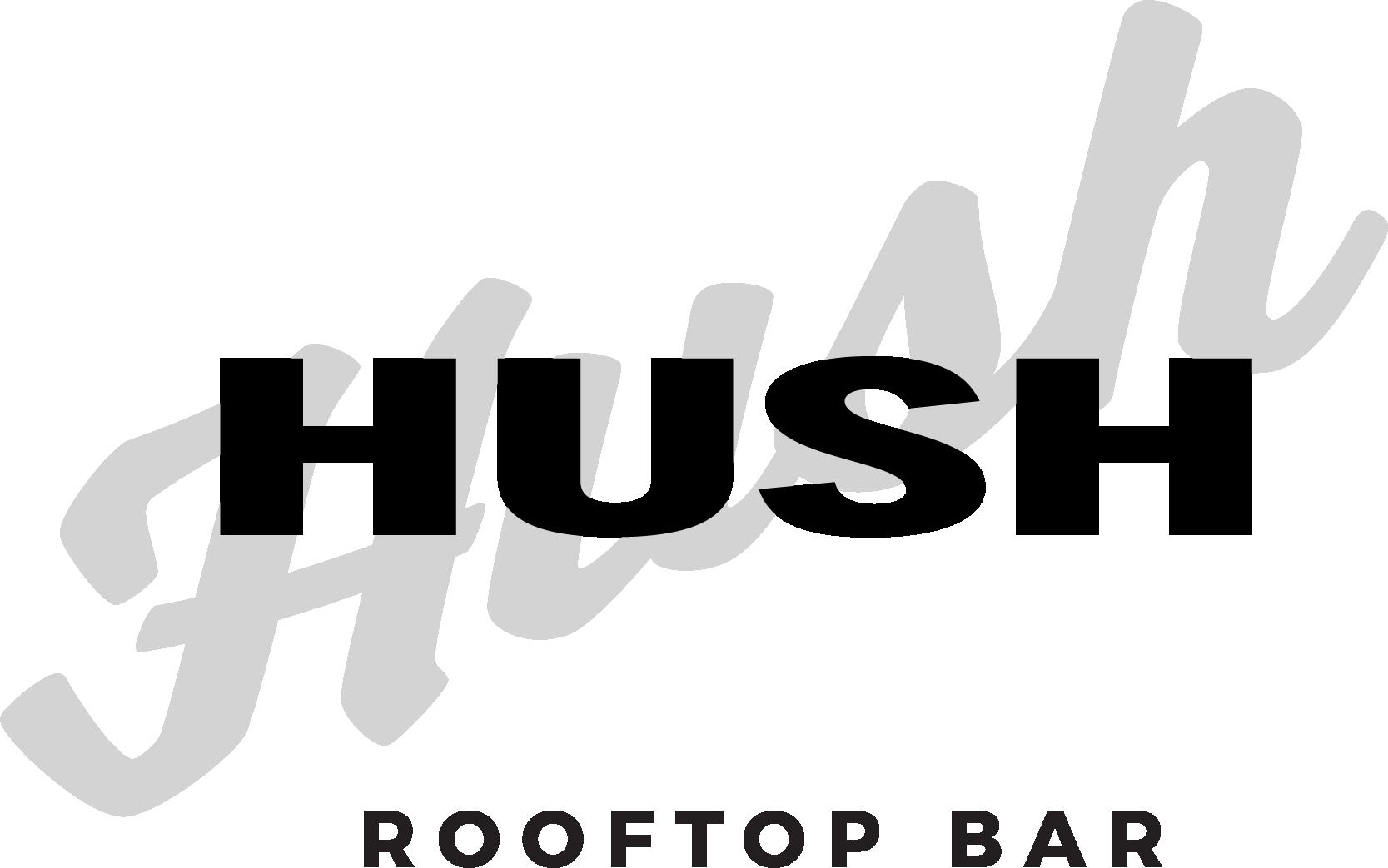 Hush Rooftop Bar - Logo
